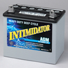 8AU1 Deka Intimidator High Performance AGM Battery